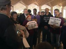 Protests staged at Legislative Building
