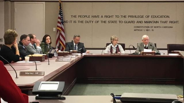 The State Board of Education meets on Dec. 20, 2016
