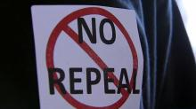 No repeal of HB2 sign