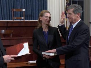 Cooper sworn in as NC governor