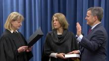 IMAGE: Stein sworn in as NC attorney general