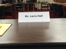 Hall seat