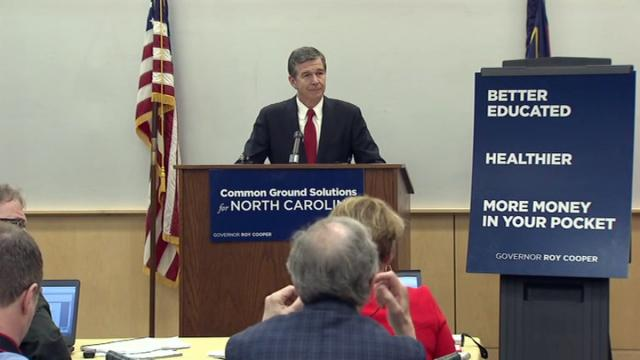 Cooper unveils his first state spending plan