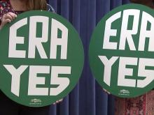 ERA signs, Equal Rights Amendment