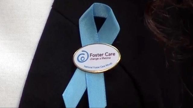 Foster care ribbon