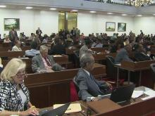 Veto override on packed House agenda