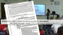 Opponents call educational debit card 'vouchers on steroids'