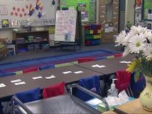 Classroom generic, empty classroom