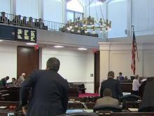 Senate takes up dozens of bills