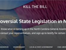 Kill the Bill website