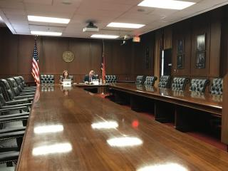 NC Community College board meeting