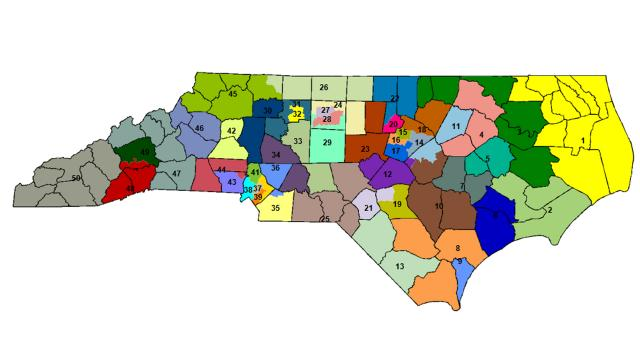 Alternative Senate district map