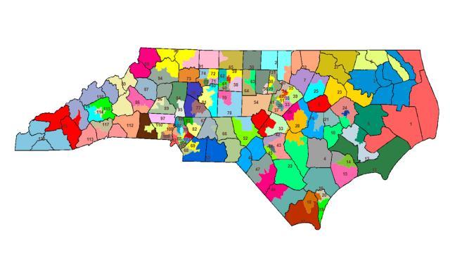 Alternative House district map