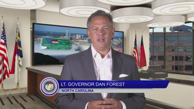 Lt. Gov. Dan Forest.