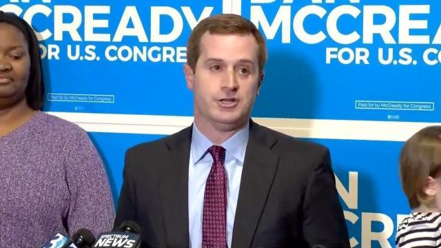 Democratic congressional candidate Dan McCready