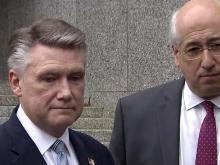 Mark Harris with attorney David Freedman