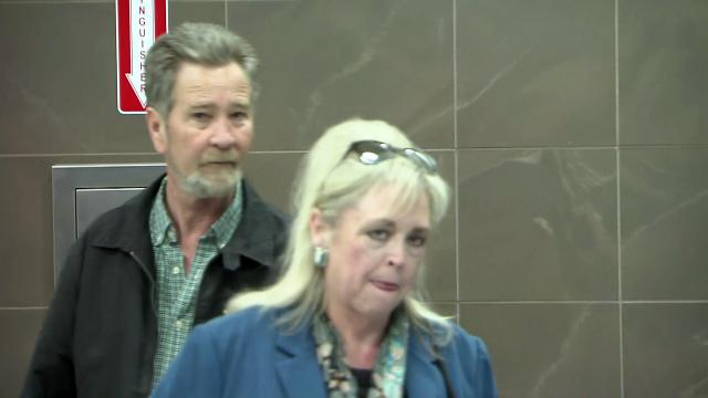 McCrae Dowless leaves the Wake County jail on Feb. 28, 2019, with attorney Cynthia Singletary after posting bond. Dowless faces election fraud charges in connection with absentee ballot work in the 2016 general election and the 2018 primary.