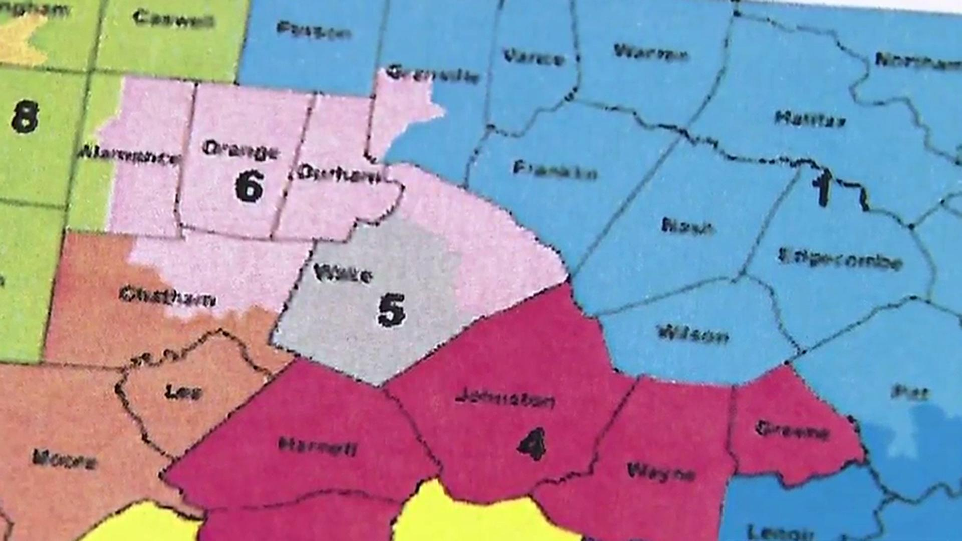 Few like process to redraw NC congressional districts ...
