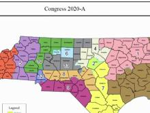 2020 Congressional district map