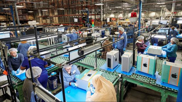 Apple manufacturing