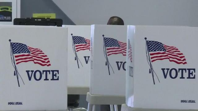 Raleigh residents wake up early to vote