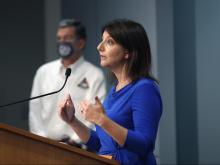 DHHS Secretary Mandy Cohen