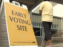 Thousands turn out on first day of early voting