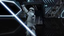 IMAGE: Your smartphone now doubles as a Star Wars lightsaber
