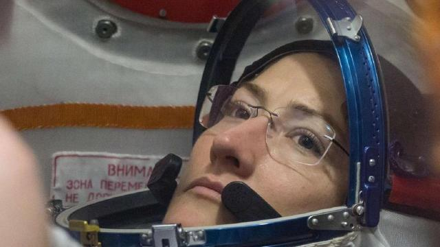 NCSU grad does first spacewalk