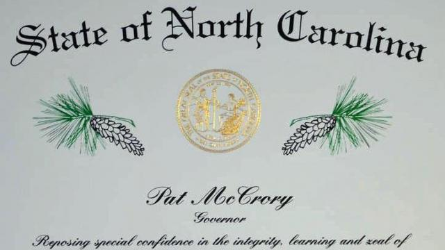Long Leaf Pine certificate