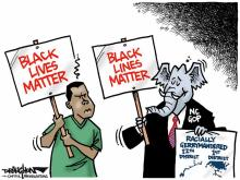DRAUGHON DRAWS: Black lines matter