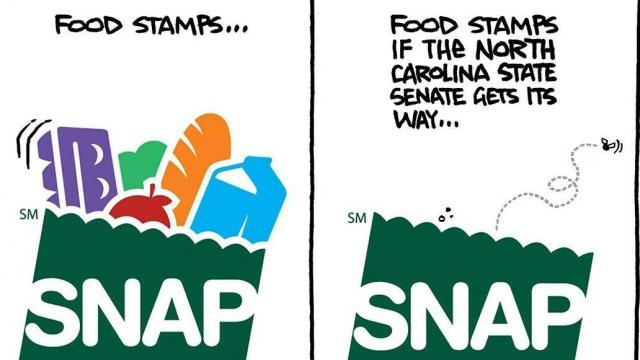 Monday June 5, 2017 -- Capitol Broadcasting's editorial cartoonist