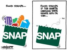 DRAUGHON DRAWS: N.C. Senate takes on hunger with a SNAP