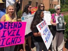 UNC Protest-Civil Rights Center