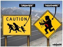 DRAUGHON DRAWS: Dreamers' presidential nightmare
