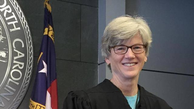 State Rep. Marcia Morey, when she served as N.C. District Court judge in Durham County