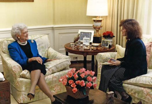 Barbara Bush: Fake Pearls, Real Heart