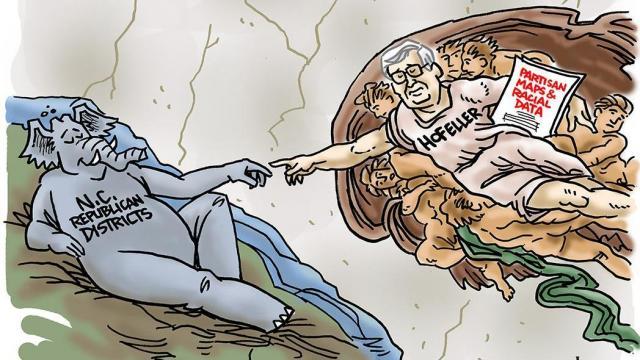 DRAUGHON DRAWS: 'Michelangelo of Gerrymandering'