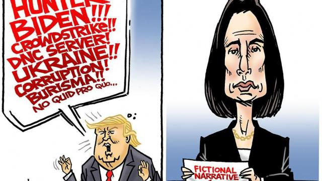Wednesday, Nov. 27, 2019 -- Capitol Broadcasting Company's editorial cartoonist.