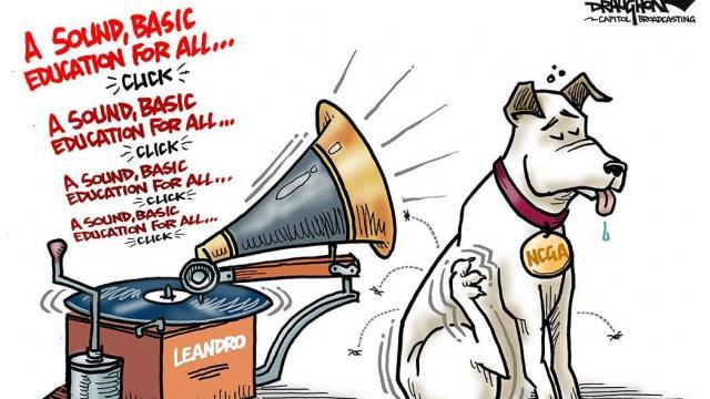 Thursday, Feb. 20, 2020 -- Capitol Broadcasting Company's editorial cartoonist.