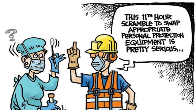 DRAUGHON DRAWS: Worker protection in COVID-19 times