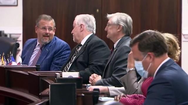 N.C. legislature masks