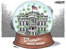 DRAUGHON DRAWS: White House's special bubble