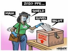 DRAUGHON DRAWS: The properly prepared 2020 N.C. voter