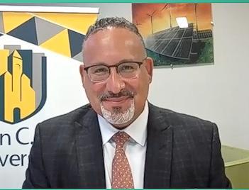 U.S. Education Secretary Miguel Cardona
