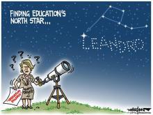 DRAUGHON DRAWS: Finding N.C. education's North Star