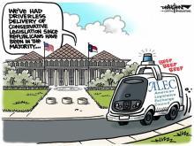 DRAUGHON DRAWS: Legislature's speedy delivery