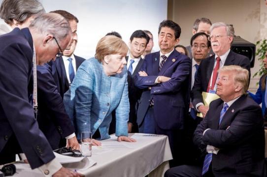 Angela Merkel -- Group of 7 summit