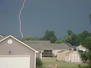 This was taken in Clayton, NC as the storm rolled in.