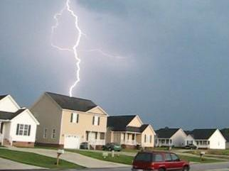 Pictures taken in the Meadows subdivision 3/4 of a mile from Campbell University